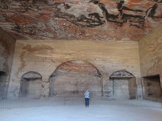 Binnenkant van de Royal Tombs