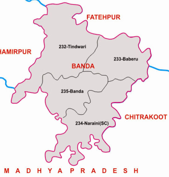 Banda district Uttar Pradesh Election 2017