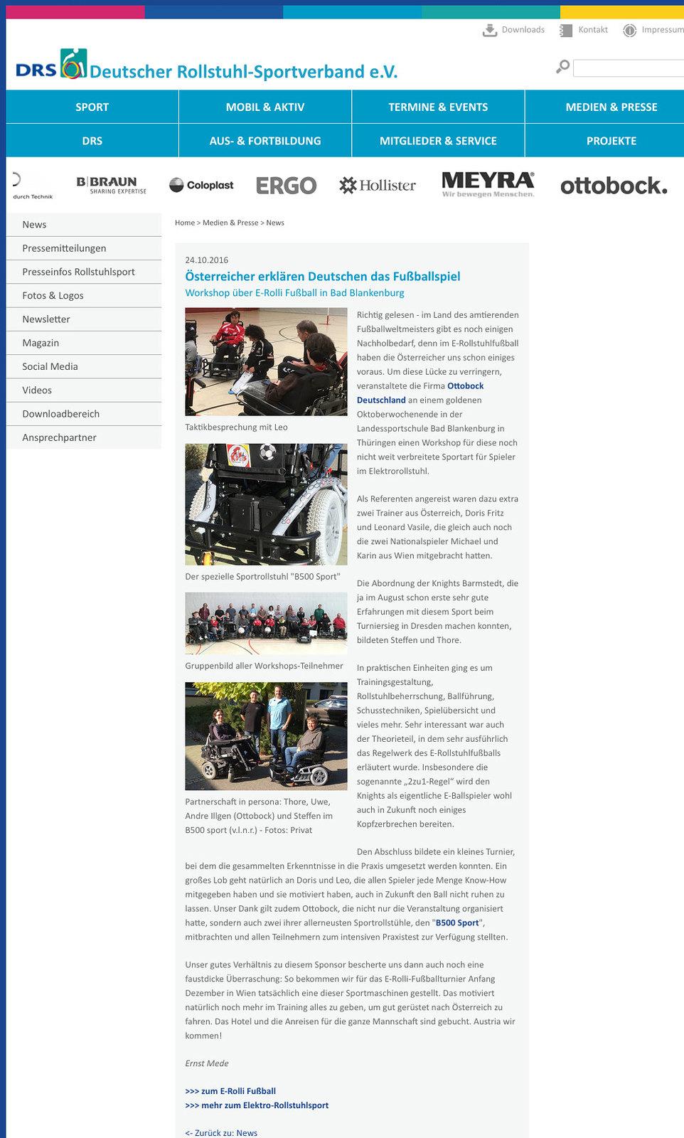 Deutscher Rollstuhl-Sportverband e.V.