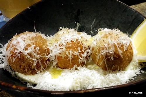 Truffle Mushroom Arancini