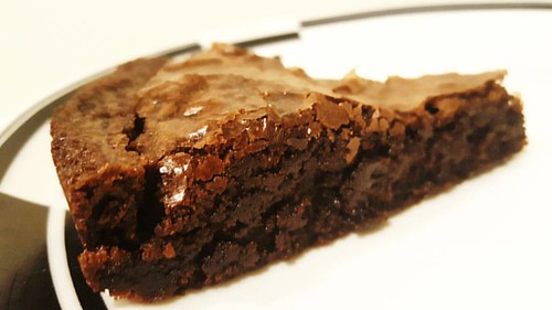 Time for that piece of brownie! Mm-mmm.
