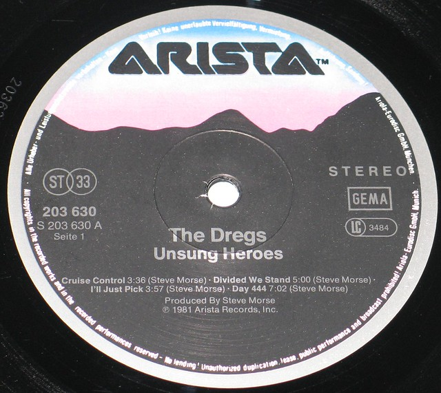 The Dregs - Unsung Heroes