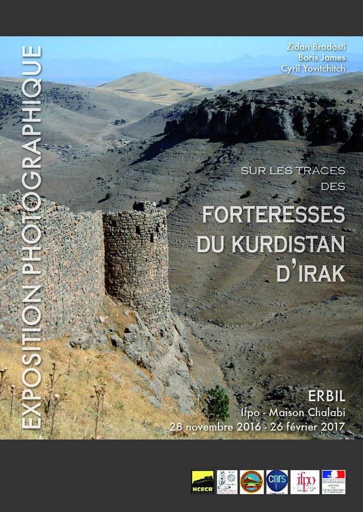 Exposition : Sur les traces des forteresses du Kurdistan d'Irak (Erbil du 28 novembre 2016 au 26 février 2017)