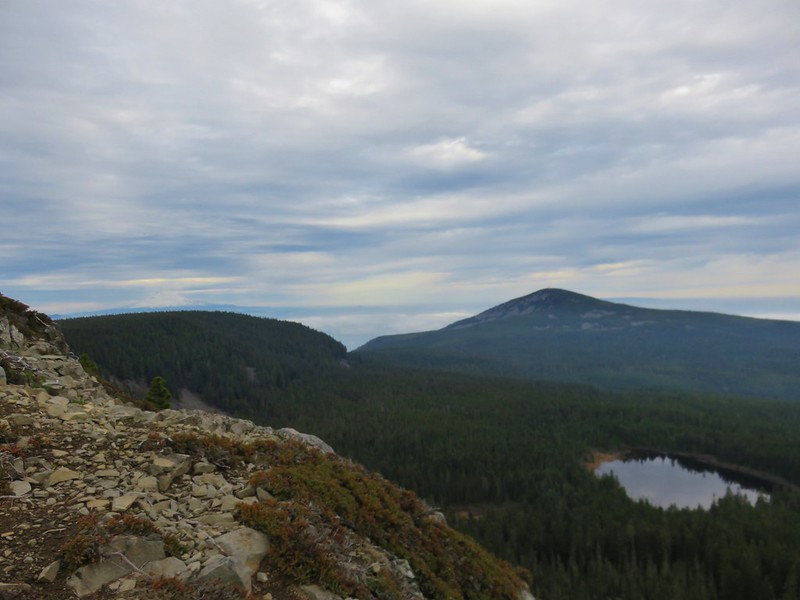 Mt. Adams, Mt. Defiance and Rainy Lake