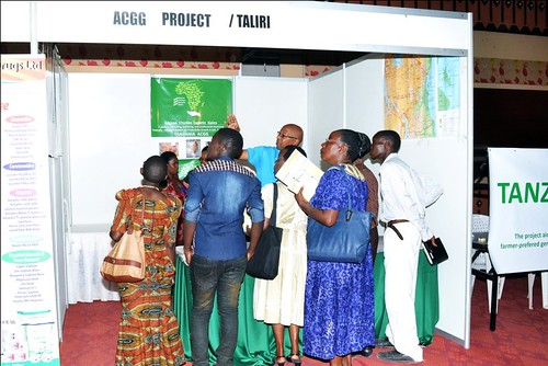 Tanzania poultry expo - African Chicken Genetic Gains booth