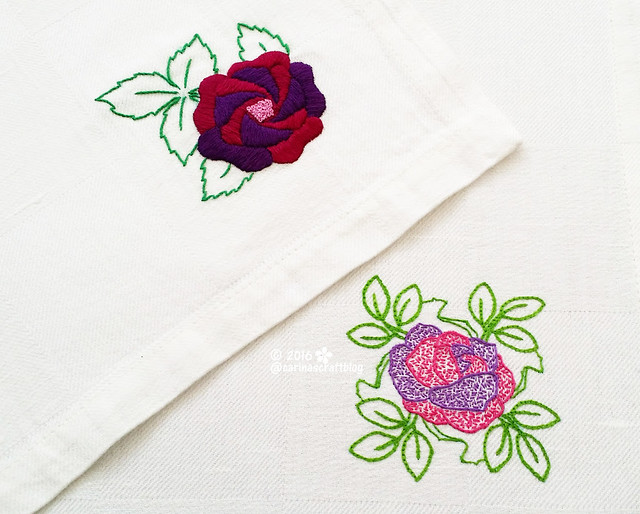 Table mat from Romantic Motifs