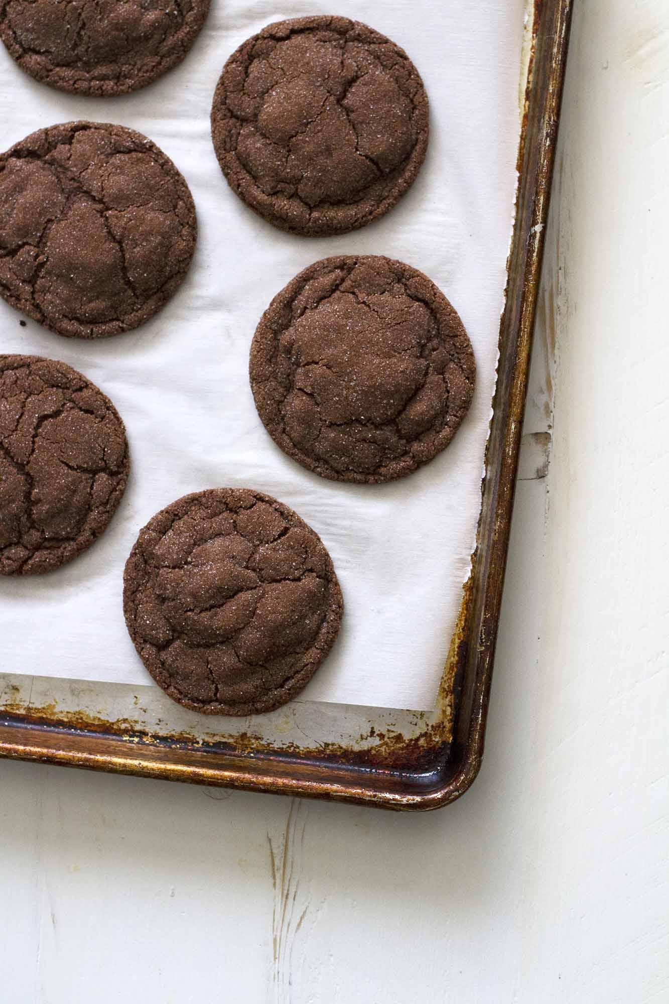Chocolate Cardamom Cookies   girlversusdough.com @girlversusdough