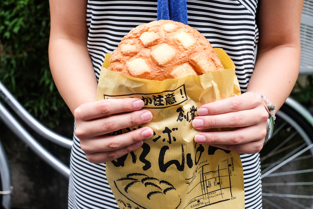 Asakusa, Tokyo: Jumbo Melon Pan