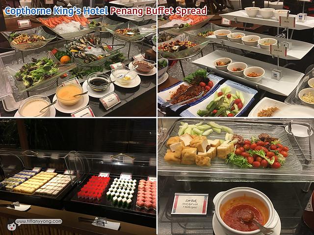 Copthorne Kings Hotel Penang Buffet Spread