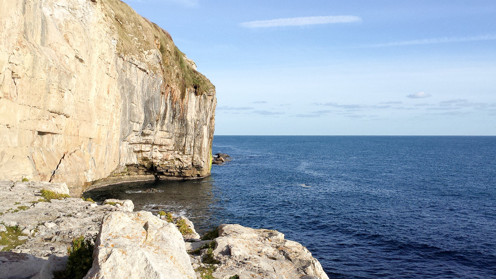 Hiking the Jurassic Coast - Worth Matravers to Swanage - The World in My Pocket 4