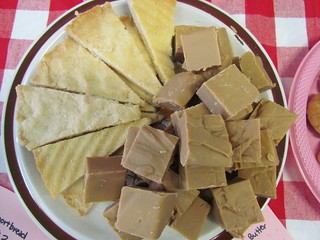 Shortbread and PB Fudge
