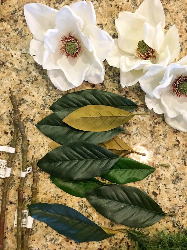 DIY Christmas Wreath Step 1 | www.graceinmyspace.com