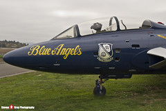 146417 7 - - US Navy Blue Angels - Grumman TF-9J Cougar - Evergreen Air and Space Museum - McMinnville, Oregon - 131026 - Steven Gray - IMG_9079
