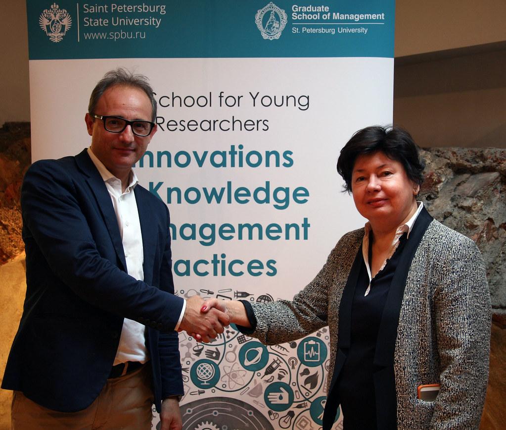 Дорогу молодым: в ВШМ СПбГУ прошла школа для молодых ученых «Инновации в практиках управления знаниями»