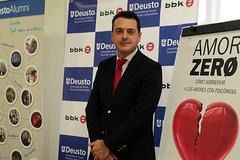 26/10/2016 - El psicólogo Iñaki Piñuel presenta en la Universidad de Deusto su libro Amor Zero