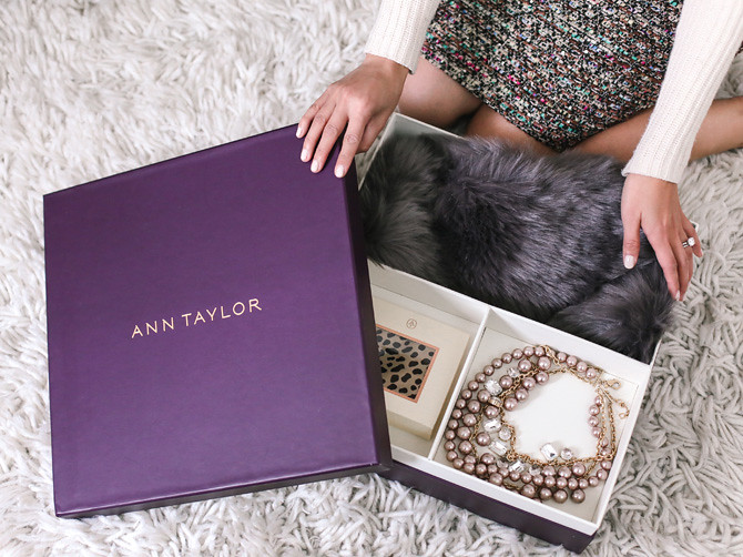 ann taylor jean wang holiday accessory gift boxes