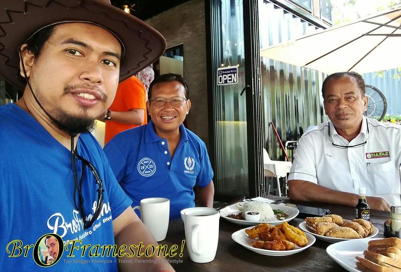Breakfast bersama Dato' Sri Ahmad Shabery bin Cheek