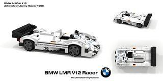 BMW LMR V12 Racer - Art Car #15- Jenny Holzer (1999)