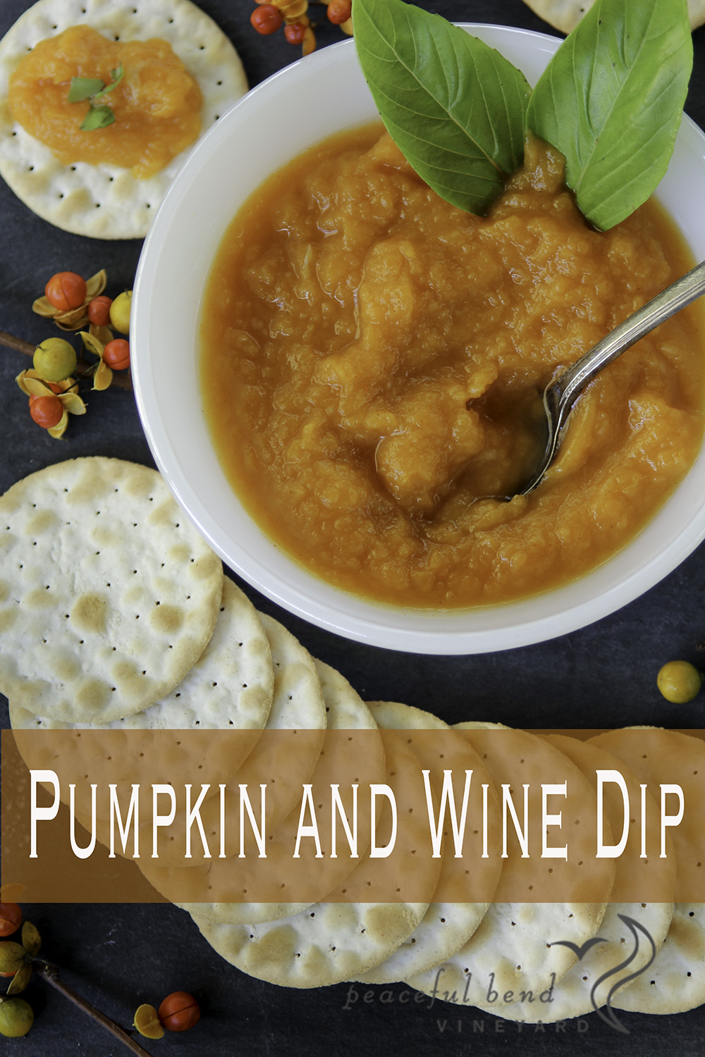 Pumpkin and Wine Dip