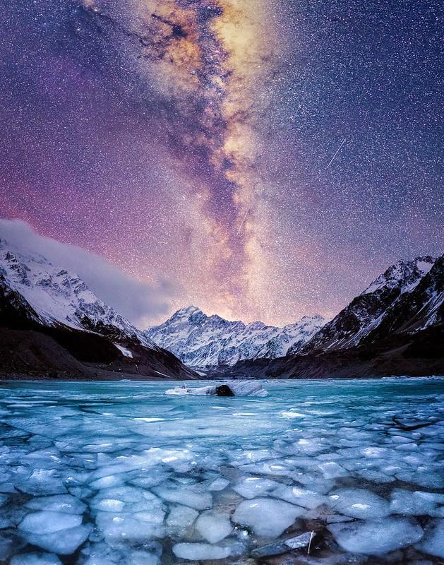 nous avons pass u00e9 l u0026 39 hiver en nouvelle-z u00e9lande  u00e0 photographier le ciel nocturne