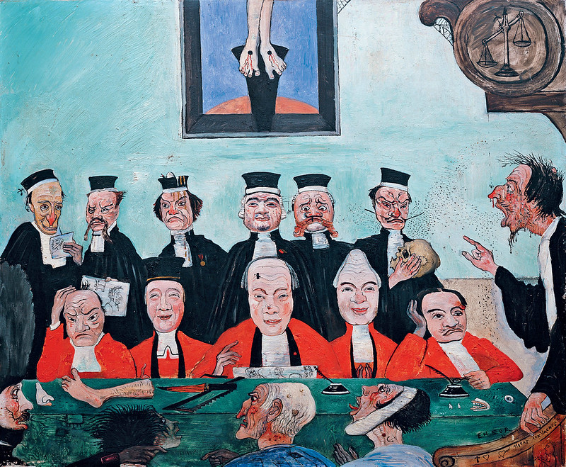 James Ensor - Good Judges, 1891