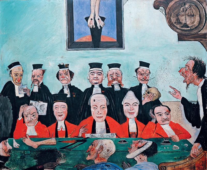 James Ensor - Good Judges, 1891