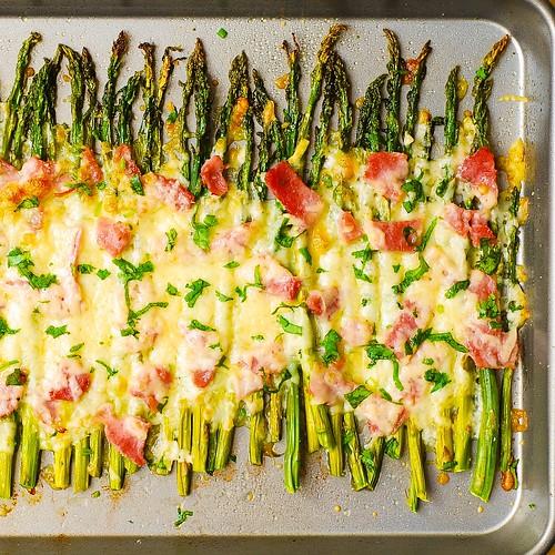 Ham and Cheese Asparagus