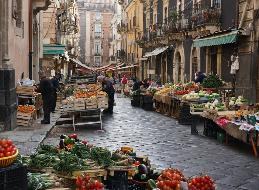 Catania's Quaint Outdoor Markets