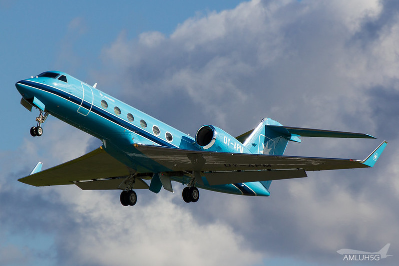 Maersk Aviation - G400 - OY-APM (1)