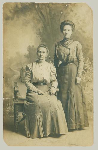 Two Women RPPC