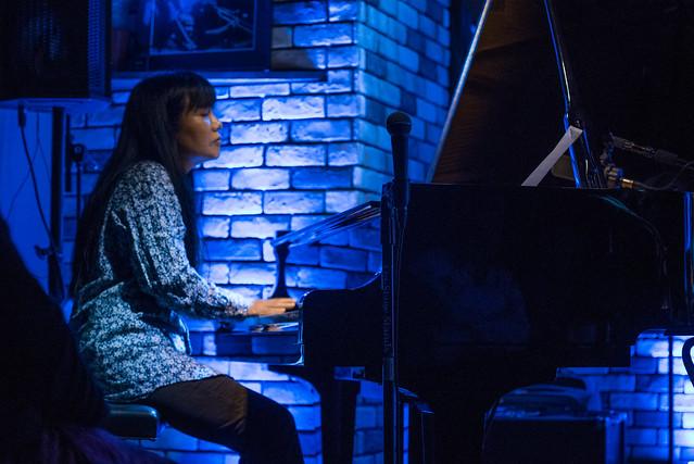 Satoko Fujii Quartet live at Cortez, Mito (Japan), 22 Dec 2016 -00040