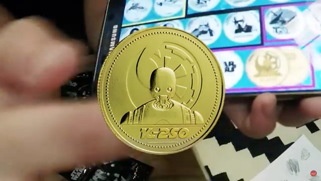 Alfamart Exclusive STAR WARS COINS Collectibles from Indonesia