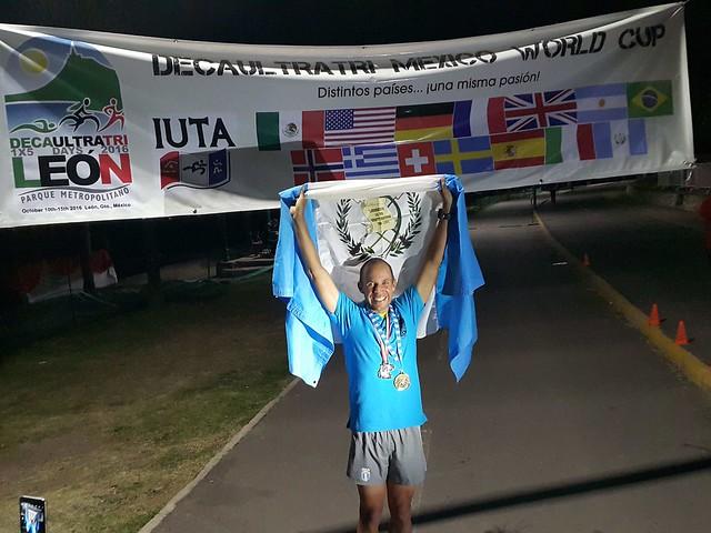 Juan Carlos Sagastume Ultra Triatlón
