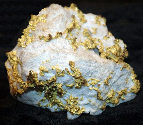 Gold Ore Quartz Hydrothermal quartz-go...