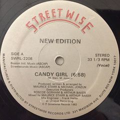 NEW EDITION:CANDY GIRL(LABEL SIDE-A)