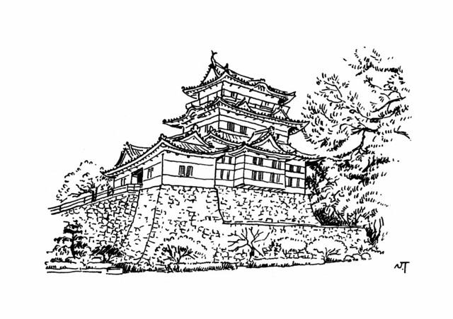 「小田原城」(神奈川県小田原市)