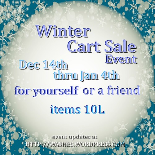 Winter Cart Sale Dec2016 poster