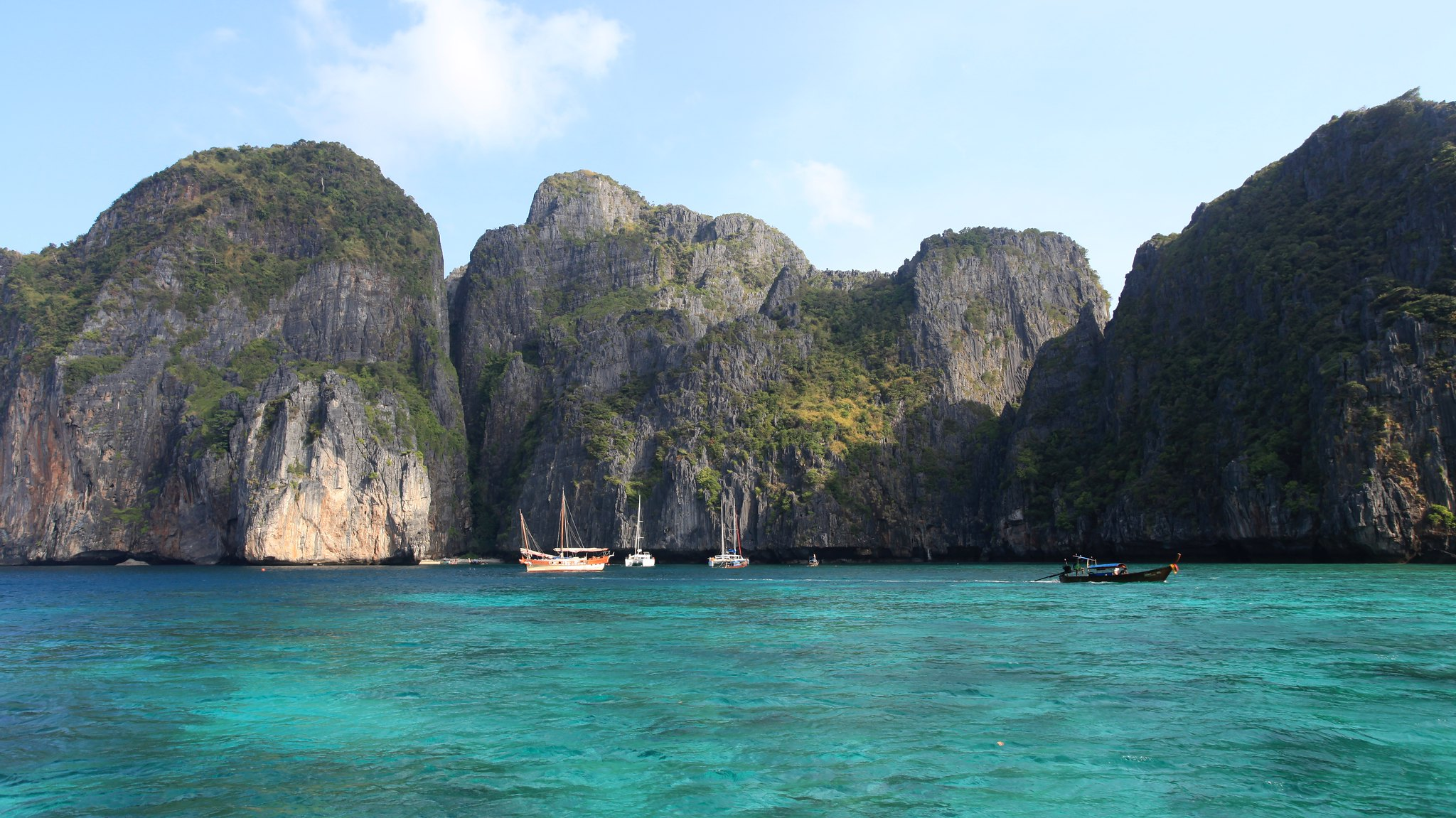 Shades of Blue in Phi Phi