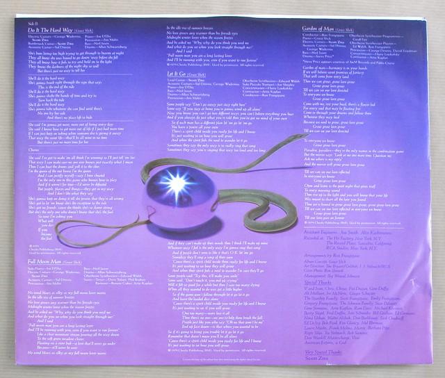 "GRACE SLICK JEFFERSON AIRPLANE DREAMS lyrics sleeve original USA 12"" LP VINYL"