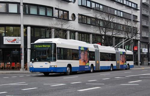 Luzern, Obergrundstrasse 25.02.2009