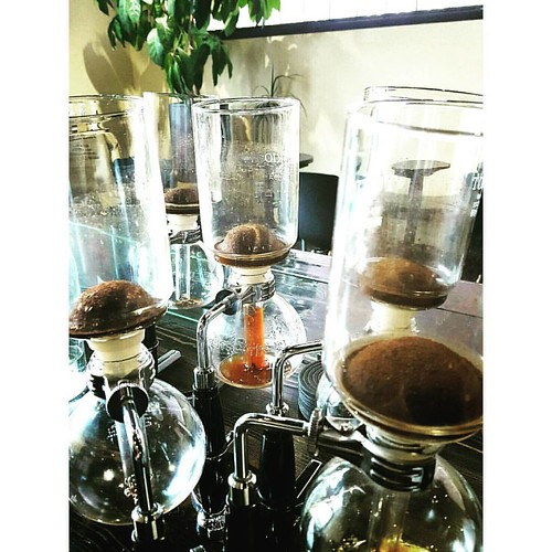 It's a beautiful siphon day. ☕❤