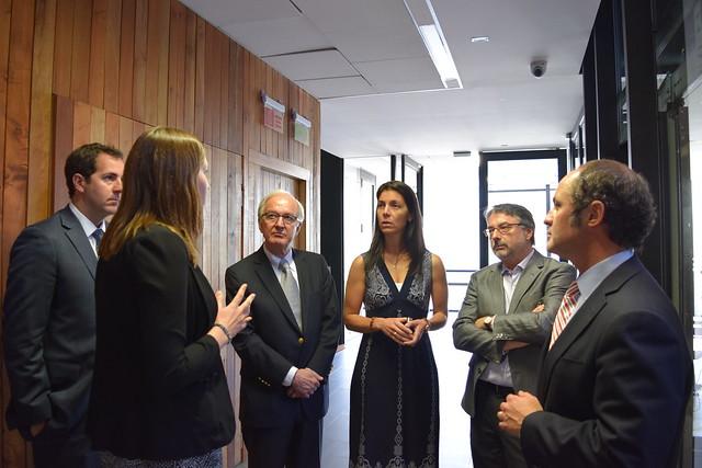 Directorio de Lipigas visita el Centro
