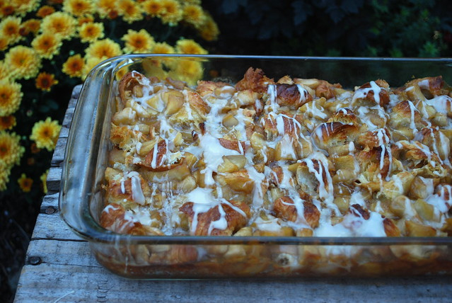 Apple Fritter Breakfast Casserole 1