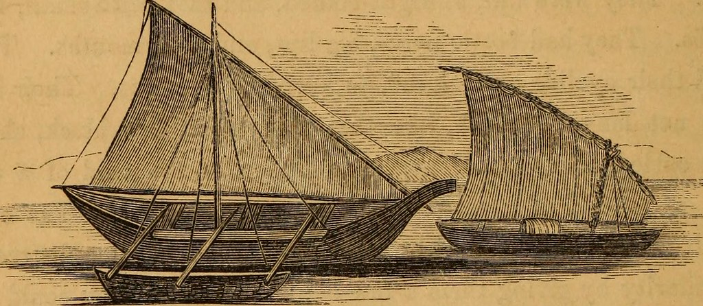 "Image from page 379 of ""Man upon the sea : or, a history of maritime adventure, exploration, and discovery, from the earliest ages to the present time ..."" (1858)"