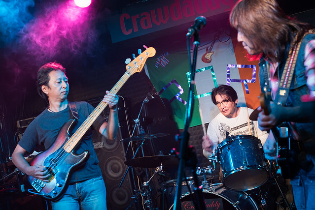 Rory Gallagher Tribute Festival - Little Wing live at Crawdaddy Club, Tokyo, 22 Oct 2016 -00059