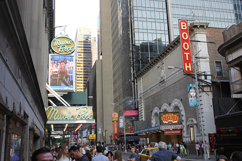 Various Shots of Times Square (New York City) - August 2014