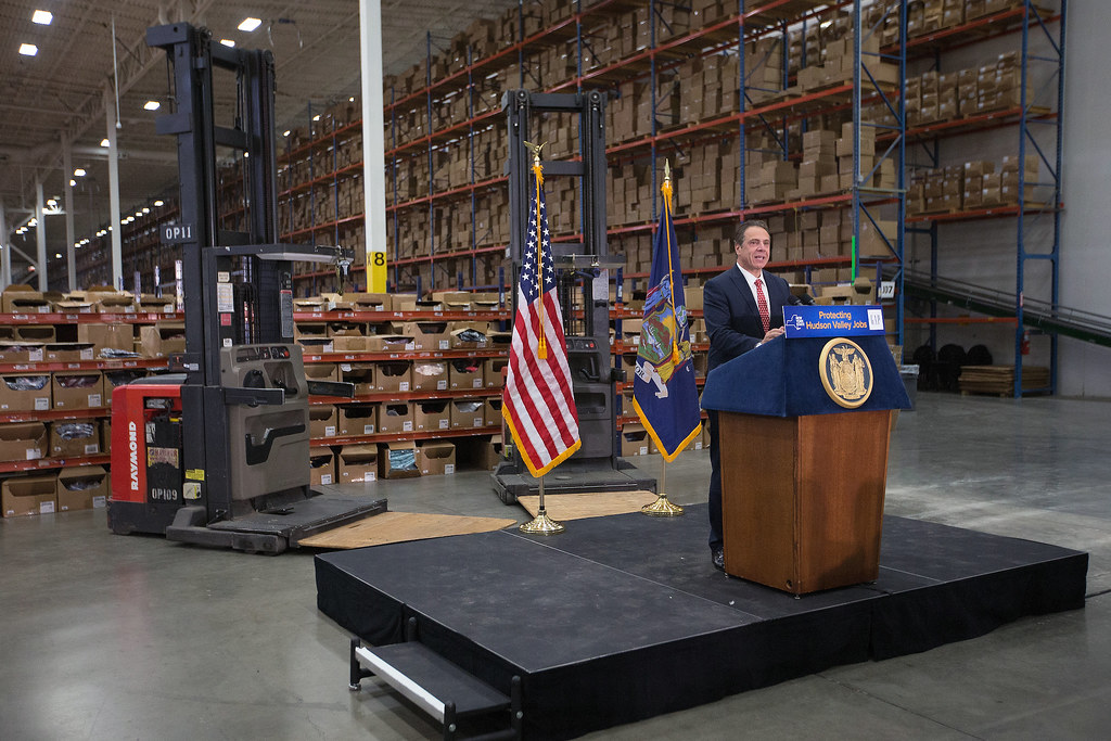 "Governor Cuomo Announces Gap, Inc. Opens Fishkill Distribution Center in ""Pop-Up"" Facility"