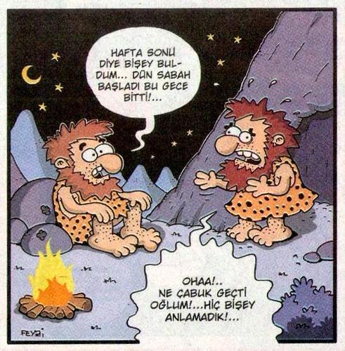 Haftasonu karikatür