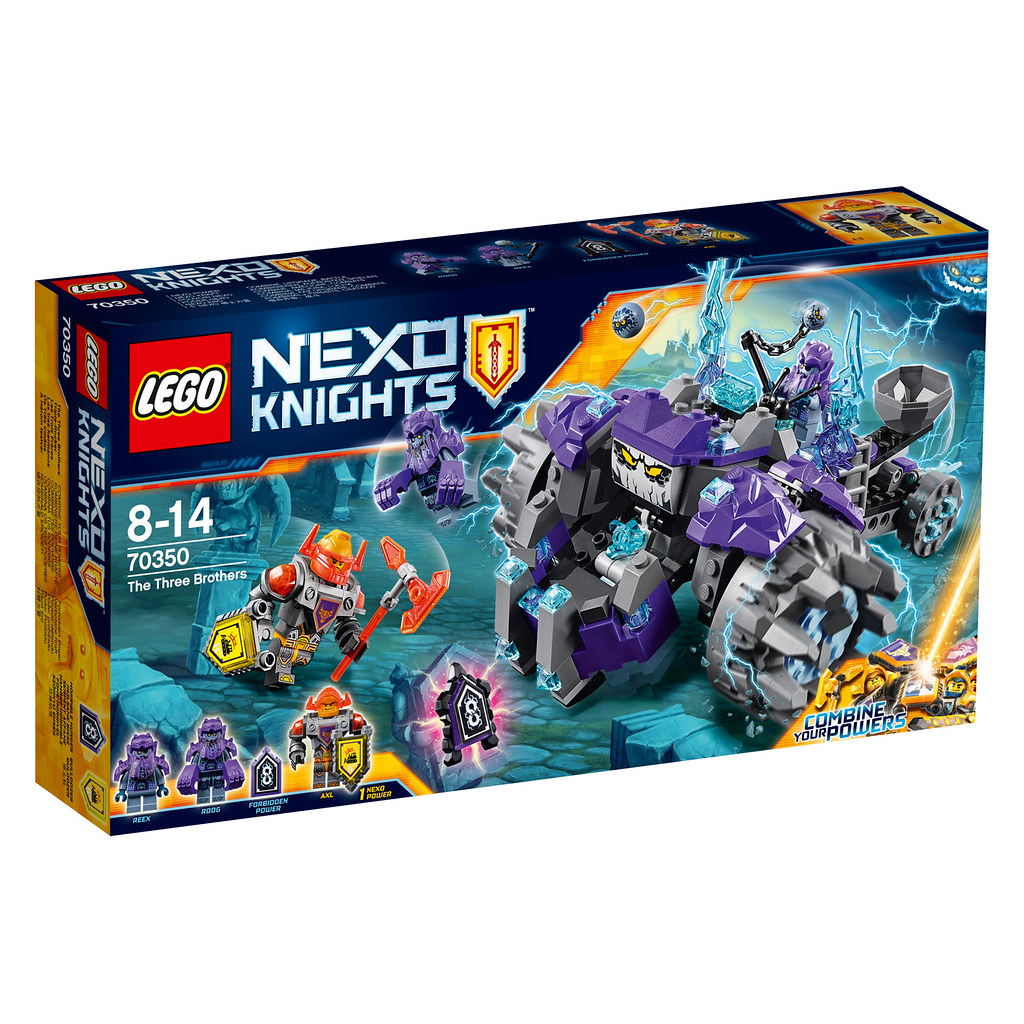 LEGO Nexo Knights 70350 - The Three Brothers