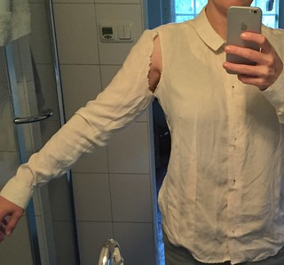 fitting marktkatoen shirt Sewing self drafted pattern